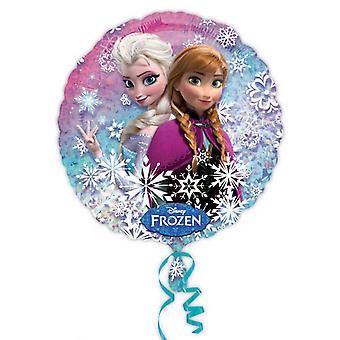 Amscan 18 インチ ディズニー ホログラム円形箔バルーンを凍結