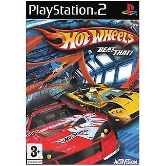 Hot Wheels verslaan dat! (PS2) - Als nieuw