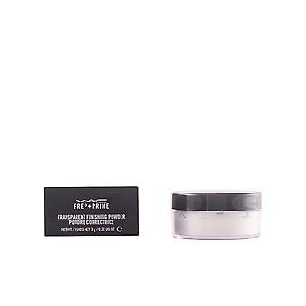 Mac Prep + Prime Transparent Finnishing Pulver 9 Gr för kvinnor