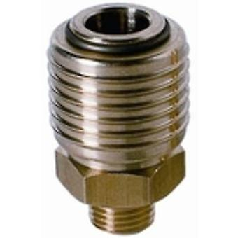 Einhell R1/4 AG 4139207 Pneumatic quick-fit connector 1 pc(s)