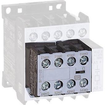 WEG BFCA-04 Auxiliary switch module Compatible with (relay brand): Weg 1 pc(s)
