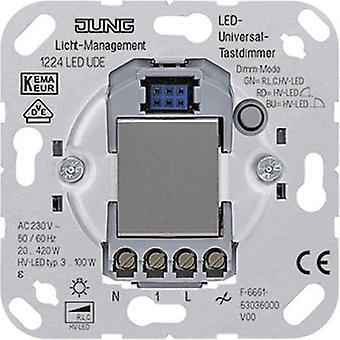 Jung Insert Dimmer LS 990, AS 500, CD 500, LS design, LS plus, FD design, A 500, A plus, A creation, CD plus, SL 500 1224LEDUDE