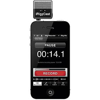 iRig Mic Cast Clip Telefon komórkowy telefon Transfer typu:Direct