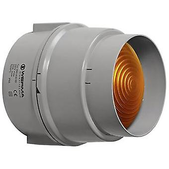 Werma Signaltechnik Light 890.300.00 geel non-stoplicht signaal 12 V AC, 12 V DC, 24 V AC, 24 V DC, 48 V AC, 48 V DC, 110 V AC, 230 V AC