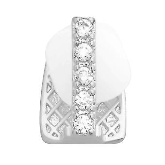 Single bling mold Cap CZ Grill - tooth attachment for gap