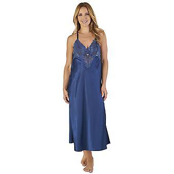 Slenderella GL2780 ženy ' s saténové nočné šaty a župan sada