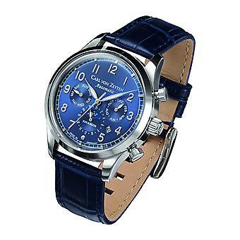 Carl of Zeyten men's watch wristwatch automatic Elz CVZ0026BL