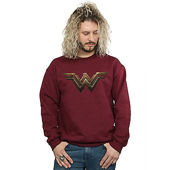 DC Comics Herren Wonder Woman Logo Sweatshirt