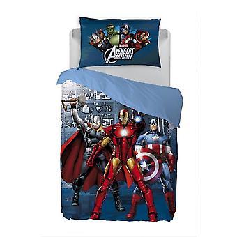 The Avengers Parure Copripiumino Caleffi