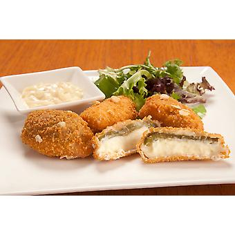 Innovate Frozen Breaded Cream Cheese Filled Jalapenos