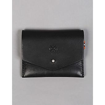 Tumble and Hide Chukka Leather Slim Wallet - Black