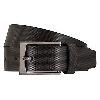 MIGUEL BELLIDO design belts men's belts leather belt grey 7710