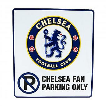 Chelsea FC Official No Parking Sign