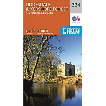 Liddesdale and Kershope Forest (OS Explorer Map)