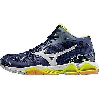Mizuno Wave Tornado X Mid V1GA161771 universal all year men shoes