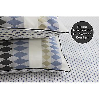 Linen House Northbrook Pillowcase Pair