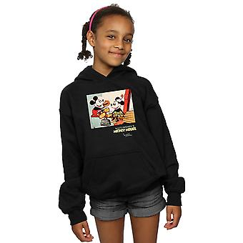 Disney Girls Mickey Mouse Bina Bir Bina Hoodie