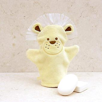 Dandy Lion bath mitt