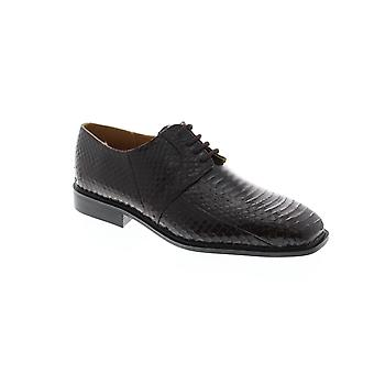 Giorgio Brutini Slaton  Mens Brown Synthetic Dress Lace Up Oxfords Shoes