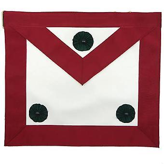 Knight mason apron maroon
