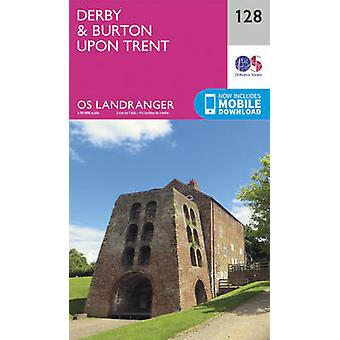 Derby & Burton Upon Trent (February 2016 ed) by Ordnance Survey - 978