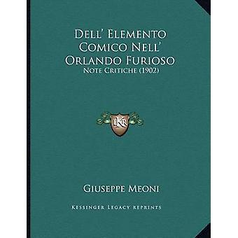 Dell' Elemento Comico Nell' Orlando Furioso - Note Critiche (1902) by