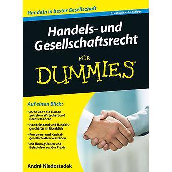 Handels- Und Gesellschaftsrecht Fur Dummies (2nd Revised edition) by