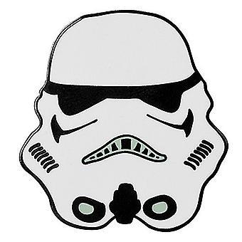 Star Wars Stormtrooper metal/emalje mini PIN badge 30mm x 30mm (Aby)