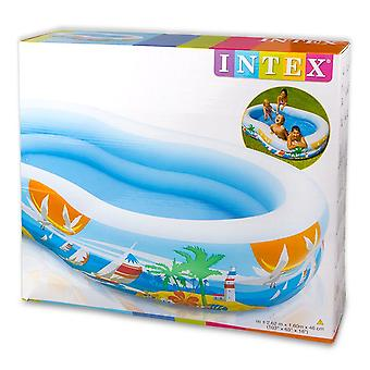 Intex 103'' X 63'' Swim Center Paradise Seaside Pool