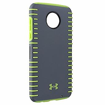Under Armour UA Protect Grip Case for Moto Z2 Play - Graphite/Quirky Lime
