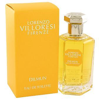 Dilmun eau de toilette spray door lorenzo villoresi 533422 100 ml