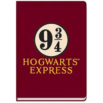 Harry Potter Platform 9 3/4 A5 Notebook