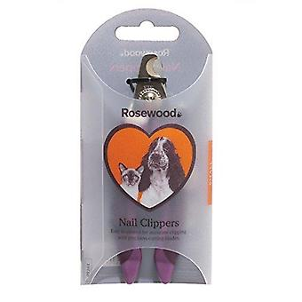 Rosewood Soft Protection Salon Grooming Nail Clipper, Mały