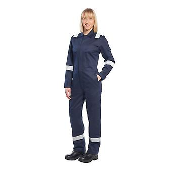 Portwest bizflame plus ladies coverall 350g fr51