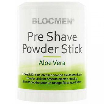 Aloe Vera Blocmen-sähköinen Preshave jauhe Stick