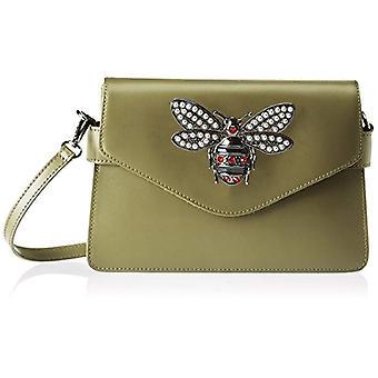Chicca Bags 8801 Green Women's Shoulder Bag 28x19x55 cm (W x H x L)