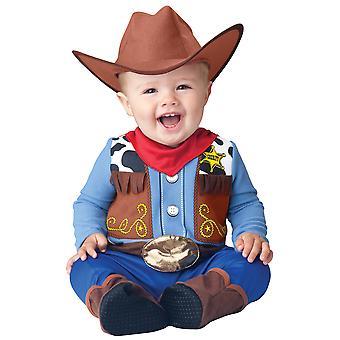 Wee Wrangler Vaquero Woody Western Niño disfraz