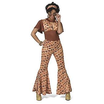 Jumpsuit 70er Damenkostüm Overall Mottoparty Karneval Fasching Kostüm Damen
