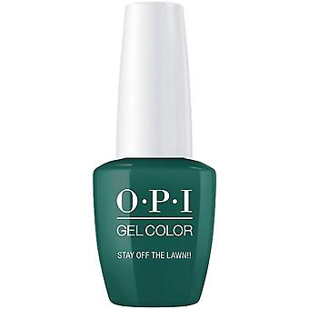 OPI GelColor Gel Color - Soak Off Gel Polish - Stay Off The Lawn 15ml (GC W54)