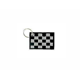 Cle Cles Key Brode Patch Ecusson Badge Damier Flag Formula 1 Race