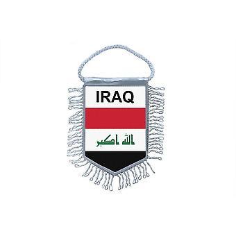 علم صغير البلد سيارة زخرفة العراق العراق