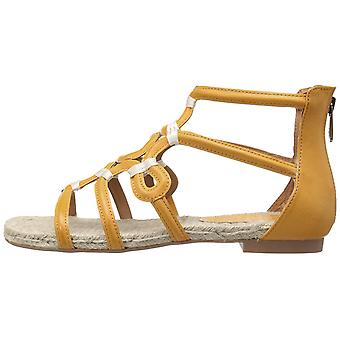 Adrienne Vittadini mujer pablic tela abierta toe beach Gladiator sandalias