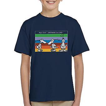 Krazy Kat Laundry De Luxe Rainbow Kid's T-Shirt