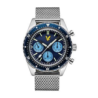 Lyle & Scott ls-6011-22 menn ' s Highland Blue Dial armbåndsur