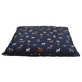 Joules Dog Print Mattress (en anglais)