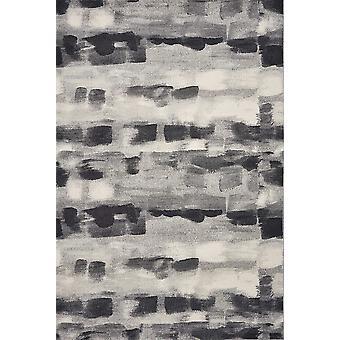 3' x 5' Grey Watercolor Palette Area Rug