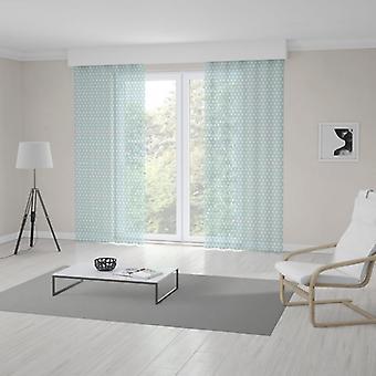 Meesoz Net Curtain - Mint Dots