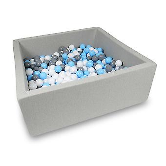 XXL Ball Pit Pool - Light Gray #52 + bag
