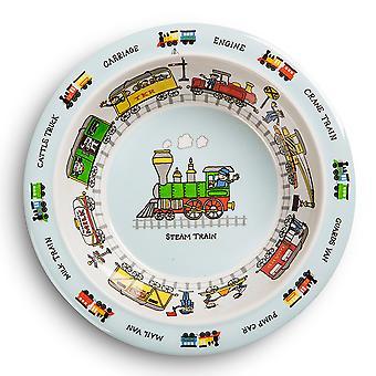 Tyrrell Katz Trains Design Melamine Bowl