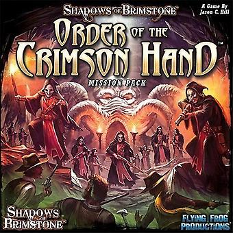 Shadows of Brimstone Order of the Crimson Hand - Mission Pack